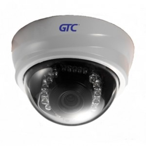 GTC-182M </br> 2MP HD Indoor Pan/Tilt IR/ICR Motion Tracking Dome IP Camera
